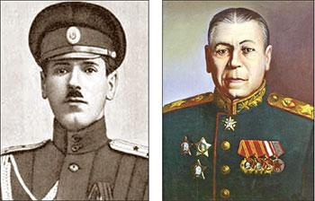 Советские маршалы - герои Первой мировой