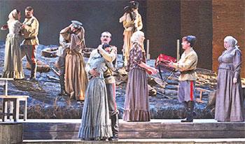 «Тихий Дон»  на Театральной площади