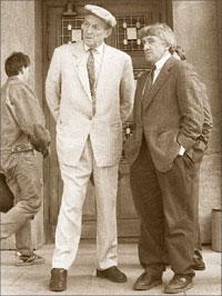 Юрий Щекочихин и Евгений Евтушенко. 1992 год; Евгений ФЕДОРОВСКИЙ
