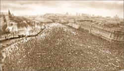 Манежная площадь. Демократический митинг конца 1980-х; Евгений ФЕДОРОВСКИЙ