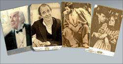 Игорь Ильинский (Фирс);  Олег Борисов (Астров);  Владимир Высоцкий (Лопахин);  Ольга Яковлева (Ирина), Лев Круглый (Тузенбах)