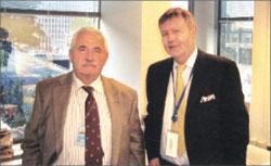 Анатолий Салуцкий и Марк Шуер