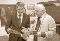 Отар Джангишерашвили и Виктор Гепфнер