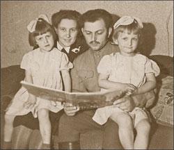 Ольга и Павел с детьми;   Из архива автора