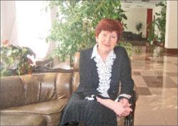 Председатель Охотской думы Наталья Фомина