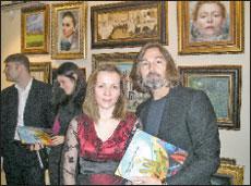 Наталья Лебедева и Никас Сафронов