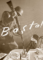 «Баста!» Листовка. 1944