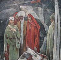 Павлоцкий В.Я. 1944 год. Землячки. 1975, Туркмения. Из фондов МКСХ