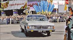 Парад Победы на Крещатике;   РИА «Новости»