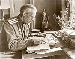 Николай Тихонов в блокадном Ленинграде;  Борис КУДОЯРОВ