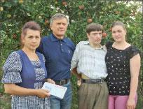 Семья Шумских;  Фото автора