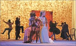 «Вишнёвый сад». Сцена из спектакля