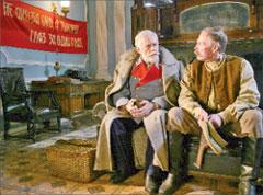 Генерал Адамов (Михаил Пахоменко) и комендант Кухтин (Владимир Гостюхин)