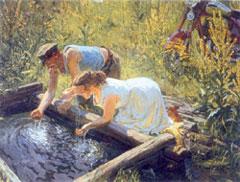 Аркадий ПЛАСТОВ. «Полдень», 1961 г.
