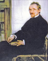 Лев Бакст. Портрет В.В. Розанова. 1902. Государственная Третьяковская галерея