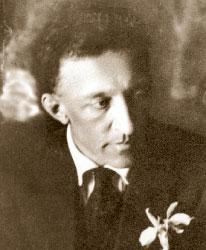 А. Блок. 1921 г. Фото М. Наппельбаума (фрагмент)