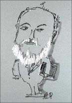 Рене Герра – портрет и оригинал