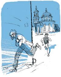 Дети бегают легко, я настигал;  Дмитрий ИЗОТОВ