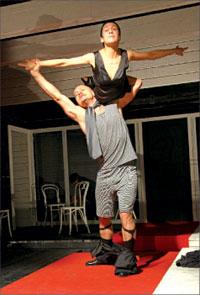 Роза Хайруллина (Мурзавецкая), Александр Фисенко (Чугунов);  Михаил ГУТЕРМАН