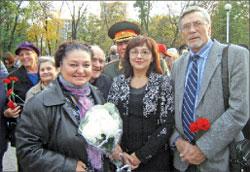 Наталья Бондарчук и Александр Михайлов с участниками фестиваля