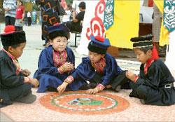 На праздновании юбилея в Калмыкии