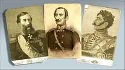 М.Т. Лорис-Меликов; В.О. Бебутов; В.Г. Мадатов;