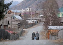 Республика Алтай. Посёлок Чемал на реке Катунь; ИТАР-ТАСС