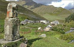 Южная Осетия. Высокогорное село; ИТАР-ТАСС