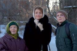 Наряду с известными актёрами И. Волковым, Л. Толкалиной в сериалсе снимался молодой А. Лобанов (справа), которому досталась нелёгкая роль