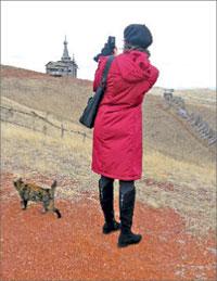 Это не кадр из фестивального фильма, а место съёмок «Русского бунта», проходивших на территории азиатской части Оренбургской области.; Фото автора