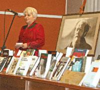 Н.Д. Солженицына на вечере памяти А.И. Солженицына
