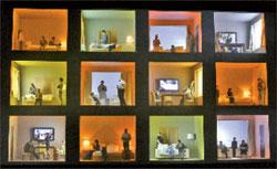 «Воццек», финал. Свою основную мысль режиссёр и сценограф Д. Черняков пытается сделать убедительной путём простого повторения; ИТАР-ТАСС